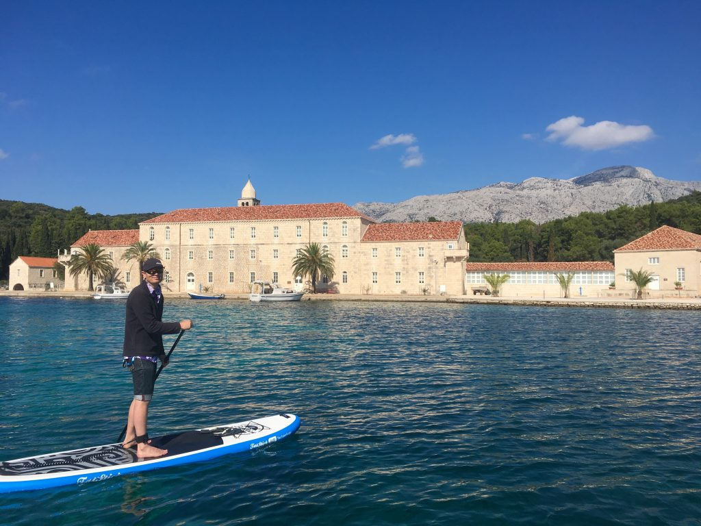 Stand Up Paddleboarding Korcula Croatia