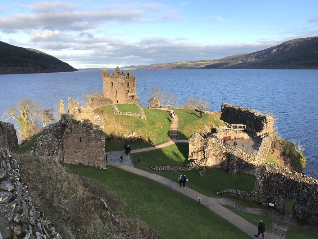 Urquhart Castle on the banks of Loch Ness one of Scotlands Epic Stand Up Paddle destinations