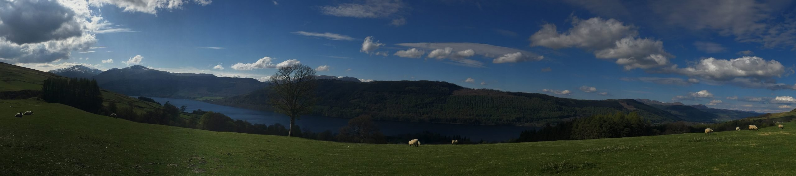 Loch Tay - a SUP-it List for stand up paddleboarding must