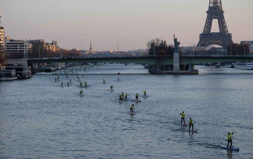 The Seine River - a great SUP-it List for stand up paddleboarding location