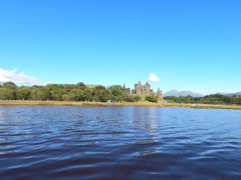 Stand Up Paddleboarding on Loch Awe - Kilchurn Castle