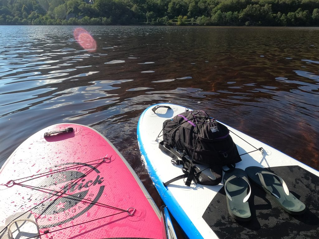 Stand Up Paddleboarding on Loch Awe