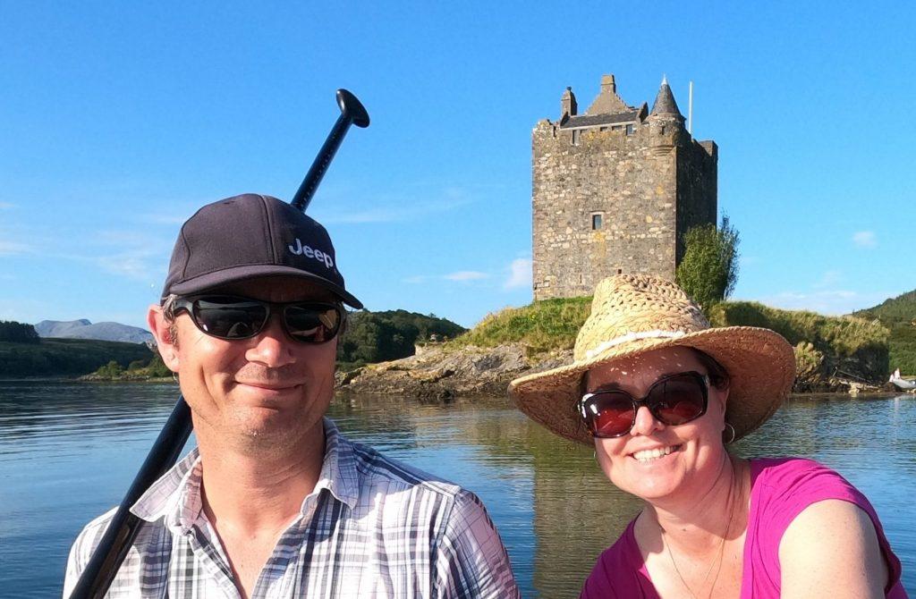 Stand Up Paddleboarding Castle Stalker