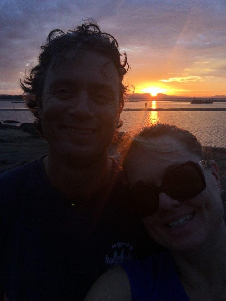 Gotta love a tropical sunset selfie