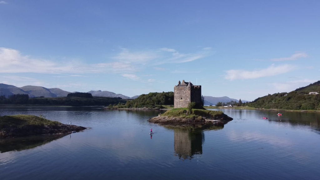 Stand Up Paddleboarding Castle Stalker