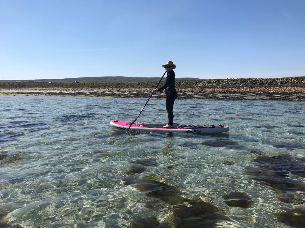 Stand up Paddleboarding in Scotland