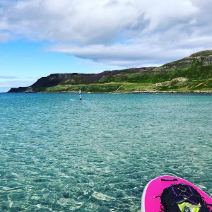 Stand Up Paddleboarding at Calgary Bay