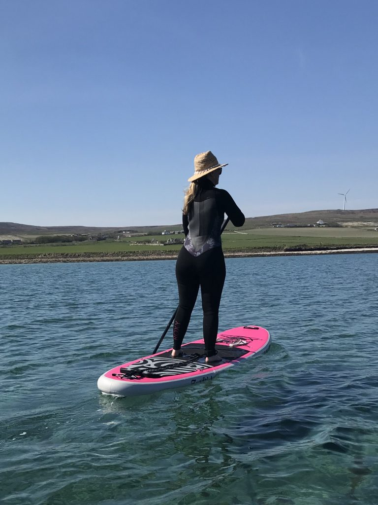 Roxy Prologue wetsuit stand up paddleboarding