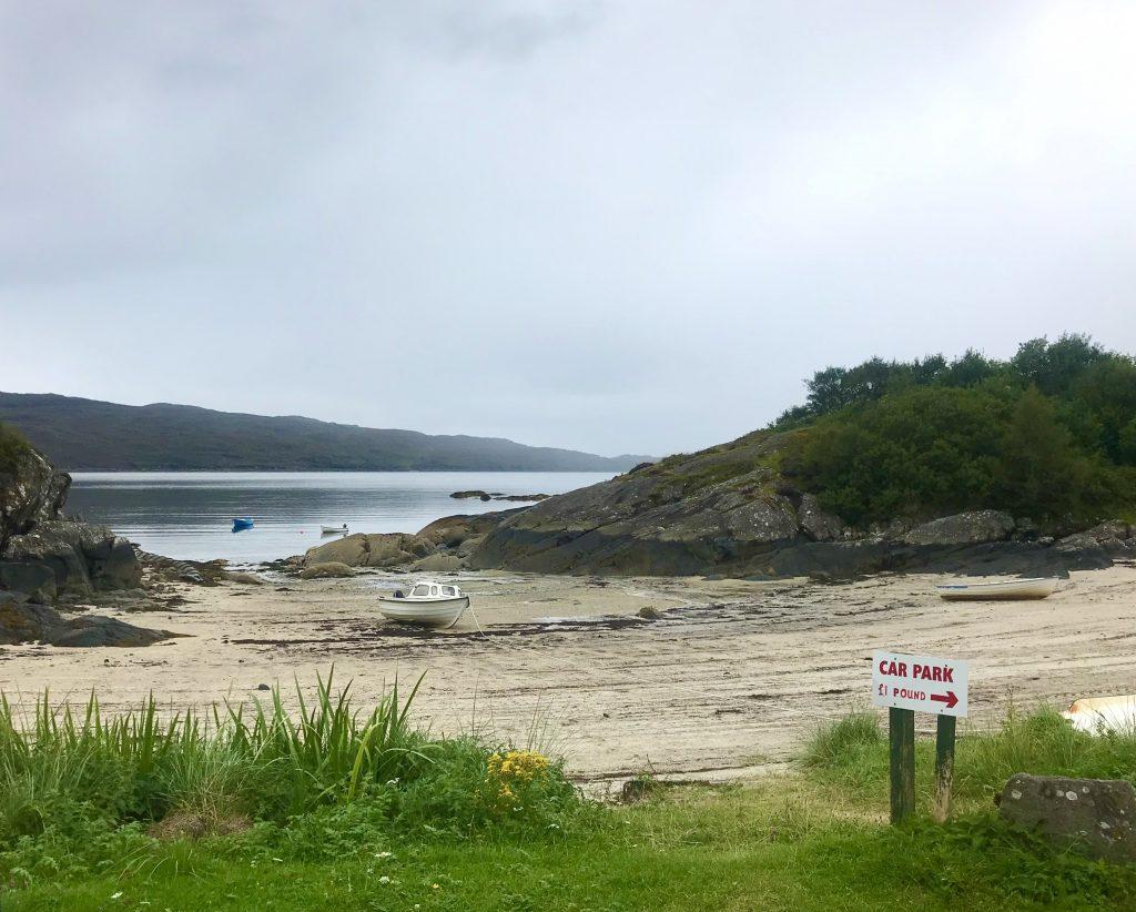Rhub a Mhurain bay near Ardtoe Scotland
