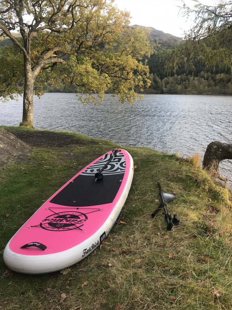 Stand Up Paddleboard on Loch Voil