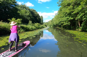 Stand Up Paddleboarding on the Clyde and Forth Canal