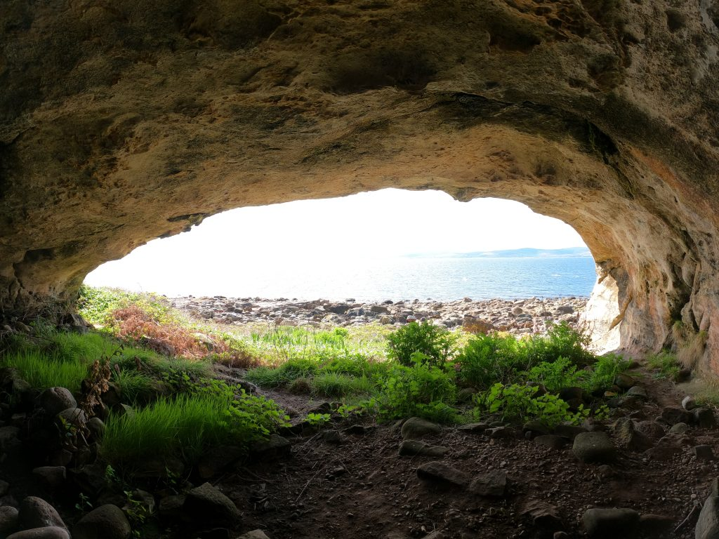 Kings Cave on Arran