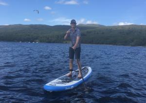Stand Up Paddleboarding Millarochy Bay Loch Lomond