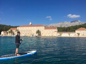 Stand Up Paddleboarding Korcula Croatia