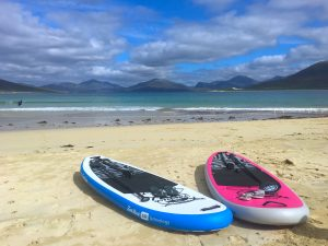 Fatstick Inflatable Stand Up Paddle boards Luskentyre Beach