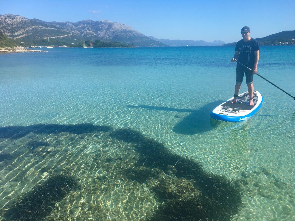 Stand Up Paddleboarding in the Mediterranean