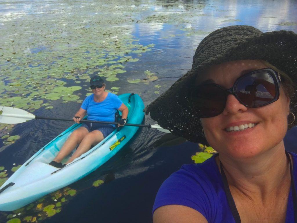 Stand Up Paddleboarding and Kayaking on Lake MacDonald