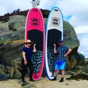 Stand Up Paddleboards with SUP Chick and SUP Bloke