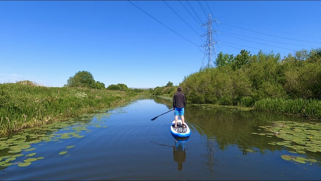 Stand Up Paddleboarding the Clyde and Forth Canal