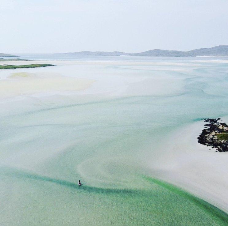 Stand Up Paddleboarding Isle of Harris